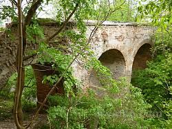 Замковий міст у Клевані