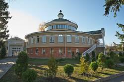 Нова споруда-ротонда Наукової бібліотеки