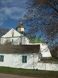 Преображенська церква у Шумську. Фото з автобуса