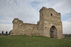 Кременецький замок. Надбрамна башта