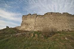Кременецький замок. Вид на південний мур ззовні