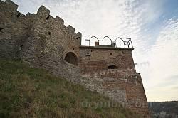 Кременецький замок. Башта над містом частково відбудована
