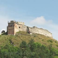 Кременецький замок. Вид з міста
