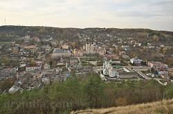 Панорама старого Кременця - одна з найбільш видовищних в Україні