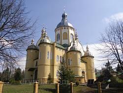 Свято-Николаевская церковь в Великом Любине Львовской области
