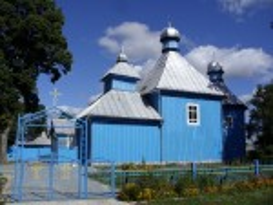 Покровская церковь в селе Железная дорога
