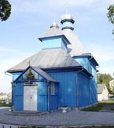 Зализница. Деревянная Покровская церковь