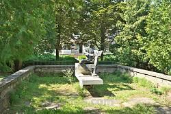 """Скульптура """"Лукаш"""" за творами Лесі Українки"""