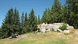 Найнижча частина Писаного Каменя - на західному кінці