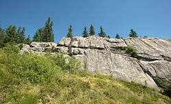 Найвища, східна частина Писаного Каменя