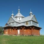 Буковець. Дерев'яна церква Вознесіння Христового