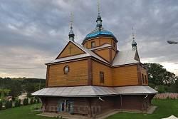 Нижнів. Введенська церква