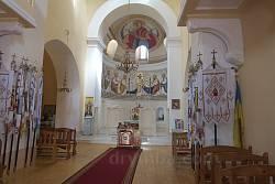 Інтер'єр церкви Різдва Христового
