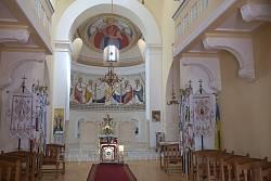 Церква Різдва Христового. Інтер'єр
