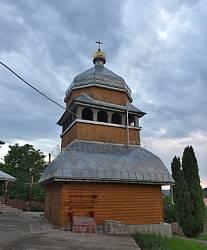 Нижнів. Дзвіниця церкви св.Архистратига Михаїла