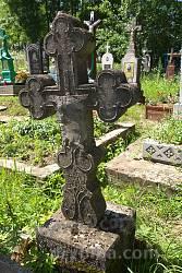 Крест на могиле 1926 года