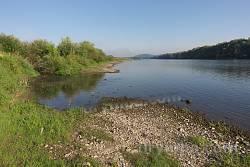 Нижнів. Устя річки Тлумач