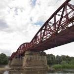 Нижнів. Міст через Дністер
