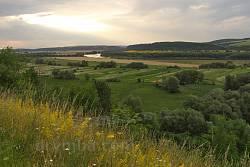 Вид на долину Днестра с Верхнего замка