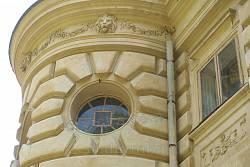 Верхня частина ризаліту на бічному фасаді
