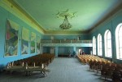 Палац культури у Коропці. Актова зала