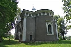 Костел св. Миколая у Коропці. Вівтарна частина