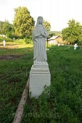 Надгробок з фігурою Богородиці