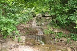 Нижній водоспад біля Возилова