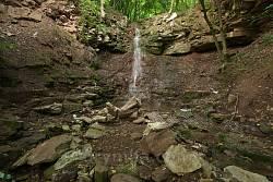 Возилівські водоспади. Другий водоспад