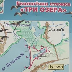 """Екологічна стежка """"Три озера"""" (с.Пульмо, Волинська обл.)"""