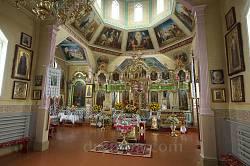 Миколаївська церква у селі Пульмо. Інтер'єр