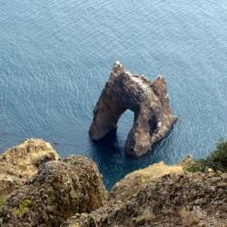 Горный массив Карадаг (п.г.т. Коктебель, Крым)