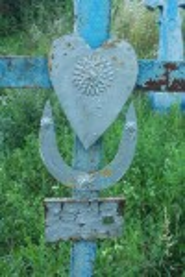 Оздоблення металевого хреста