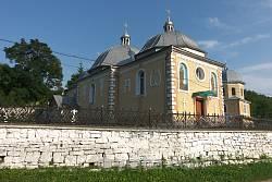 Церква Вознесіння Господнього у селі Незвисько