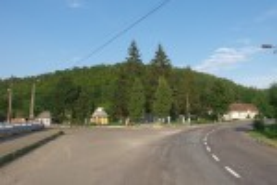 Центр села Незвисько