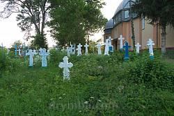 Старий цвинтар у селі Лука