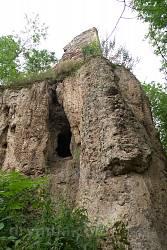 Раковець. Скеля та печера