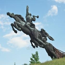 Олесько. Пам'ятник бійцям Першої Кінної Армії Будьонного (2014 рік)