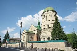 Олесько. Костел Пресвятої Трійці