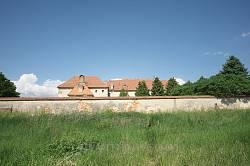 Монастир капуцинів. Вигляд з півдня