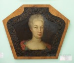 Натрунний портрет XVIII века