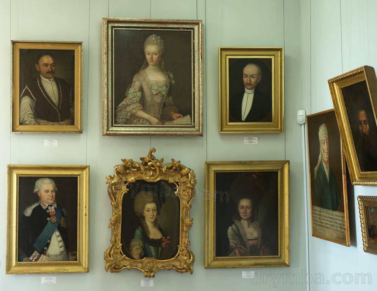 Собрание портретов 18-19 века.