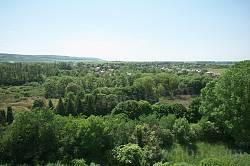 Пейзаж парка Олеского замка