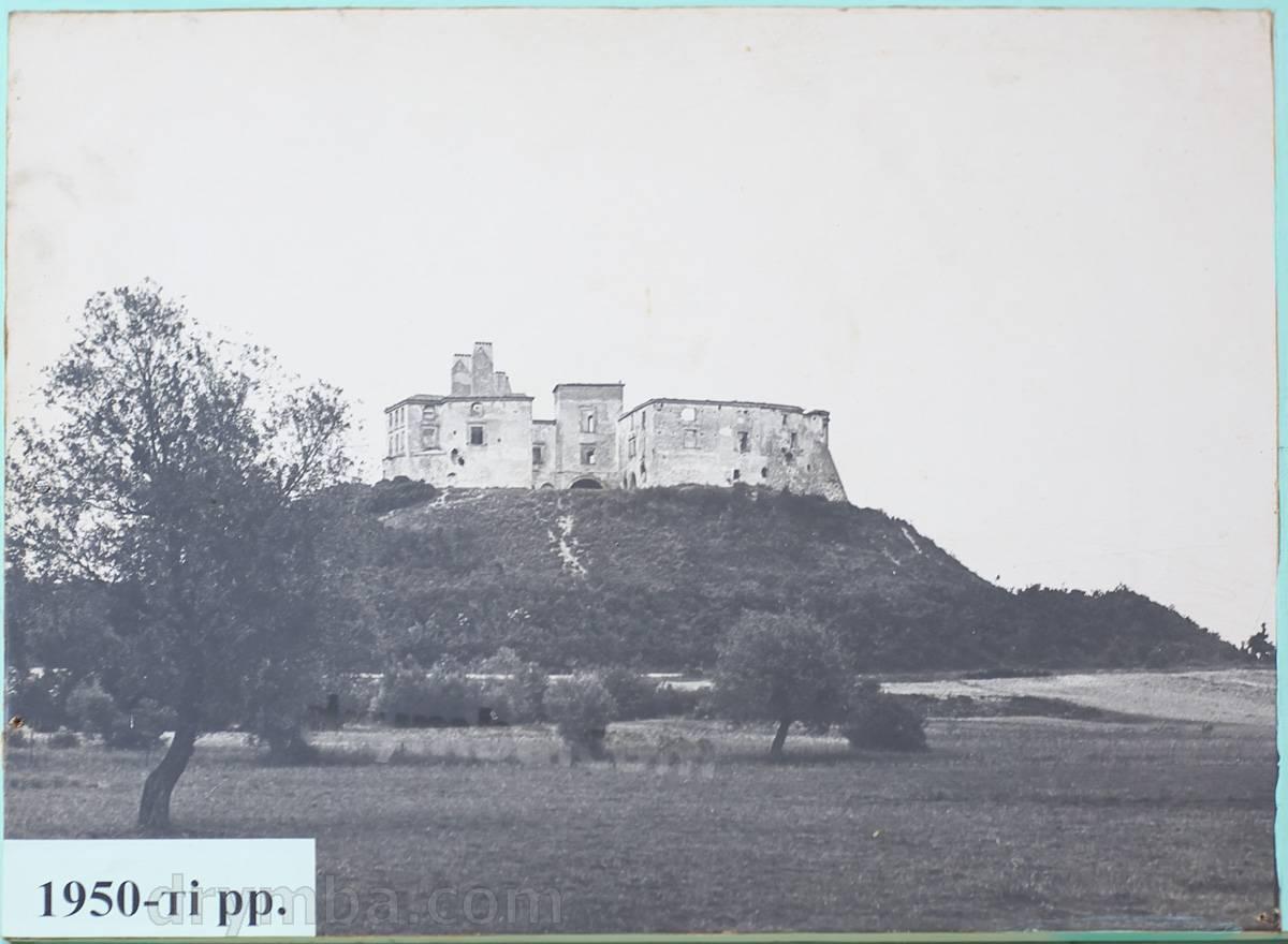 Олесский замок после пожара, 1950-е гг