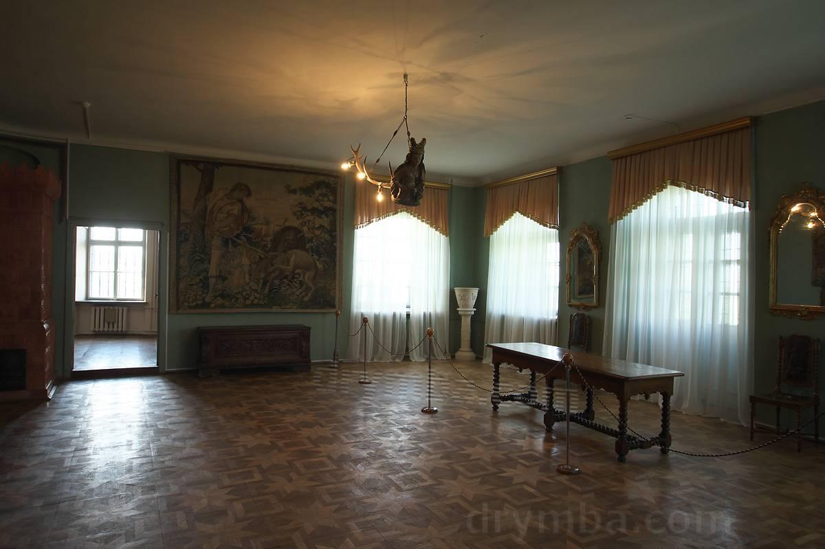 Замковый интерьер 17 века.