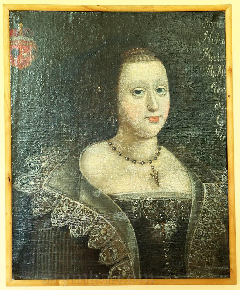 Портрет Софии Мнишек нач. XVII ст.