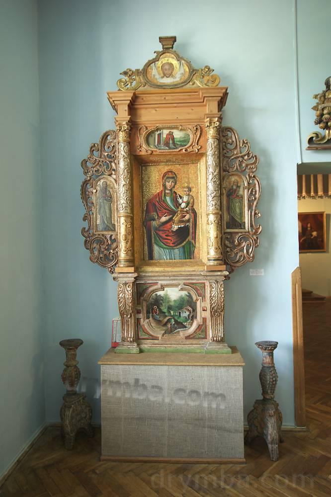 Алтарь Богоматери 1689р.