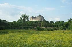 Олеский замок. Вид с юга