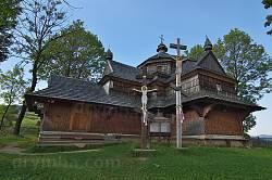 Дерев'яна церква Вознесіння Господнього у Ясіні