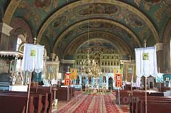 Интерьер церкви Покрова Пресвятой Богородицы